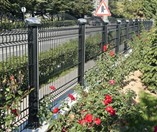 Decorative Panel and K-DAG Fence