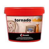 Decorative Coating with Silky Silver Pearlescent Touch/Tornado