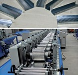 Production Line for Gypsum Plaster Board Profiles
