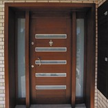 Wooden Apartment Door