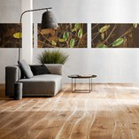 Curved Edge Laminate and Solid Wood Flooring