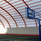 Polycarbonate Roofing Sheet Panels for Sport Playground
