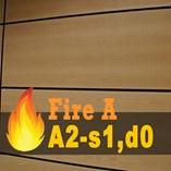 Fire Rated Acoustic Wooden Ceiling and Wall Panels