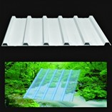 PVC Roof and Facade Panel and Transparent Panel (with air duct)
