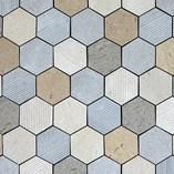 Natural Stone Facade Cladding/Moca Hexagon