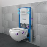 Concealed Cistern/Duofresh
