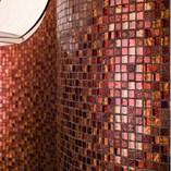 Glass Mosaic & Crystal Glass Mosaic Tile