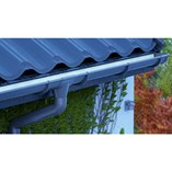 PVC and Steel Rain Gutters and Downpipes/Galeco