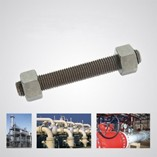 High Pressure and High Temperature Resistant Bolts, Nuts, Flange Studs