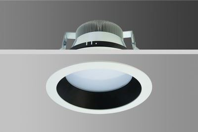 "LED Armatürler/8"" Düz Kademeli LED Downlight"