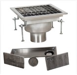 Stainless Steel Commercial Kitchen Floor Drains