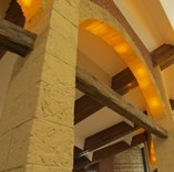 Cut Stone Look Spanish Decorative Arch Coverings