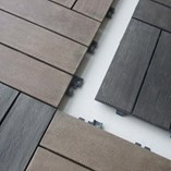 Wood Composite Square Deck Indoor and Outdoor Floor Covering